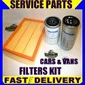 Nissan Primastar 1.9 Dci 1.9Dci Oil Filter Air Filter Fuel Filter Service Kit