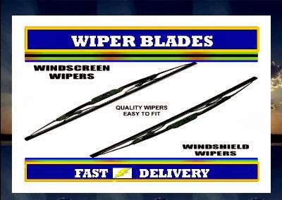 Jeep Wrangler Wiper Blades Windscreen Wipers  2007-2012