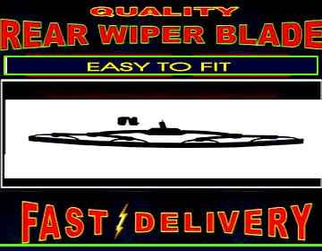 Peugeot 806 Rear Wiper Blade Back Windscreen Wiper
