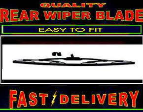 Volvo 850 Rear Wiper Blade Back Windscreen Wiper