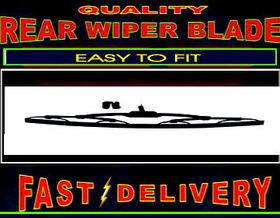 Audi 80 Avant Estate Rear Wiper Blade Back Windscreen Wiper