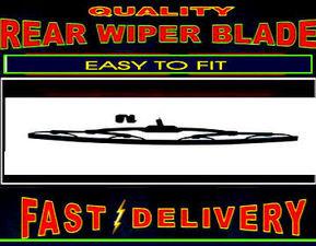 Bmw 5 Series Estate 520 523 530 E61 Rear Wiper Blade Back Windscreen Wiper 2004 to 2011