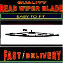 Bmw 3 Series Estate 318 320 323 E36 Rear Wiper Blade Back Windscreen Wiper 1995-1999