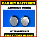 Citroen Car Key Batteries Cr2025 Alarm Remote Fob Batteries 2025