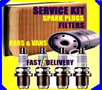Citroen Berlingo 1.4 Oil Filter Air Filter Fuel Filter Spark Plugs 1996-2000