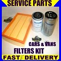 Nissan X-Trail X Trail 2.2 Dci 2.2Dci Oil Filter Air Filter Fuel Filter Service Kit