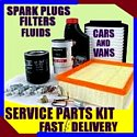 Bmw 5 Series 525 530 Air Filter Oil Filter Spark Plugs Fluids  2000-2004  E39