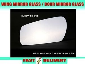 Alfa Romeo 147 Wing Mirror Glass Passenger's Side Nearside Door Mirror Glass 2001-2010