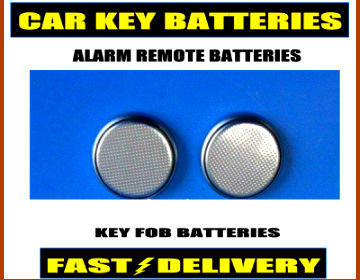 Smart Car Key Batteries Cr1225 Alarm Remote Fob Batteries 1225