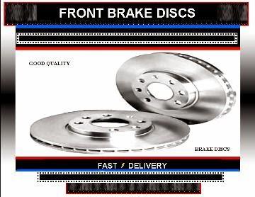 Vauxhall Agila Brake Discs Vauxhall Agila 1.0 Brake Discs  2008-2012