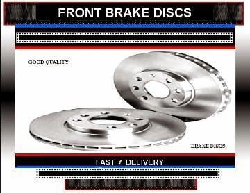 Volkswagen Sharan Brake Discs Vw Sharan 2.8 VR6 Brake Discs  1995-1997