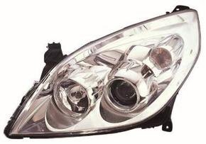 Vauxhall Vectra Headlight Unit Passenger's Side Headlamp Unit 2005-2008