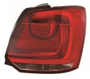 Volkswagen Polo Rear Light Unit Driver's Side Rear Lamp Unit 2009-2014