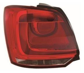 Volkswagen Polo Rear Light Unit Passenger's Side Rear Lamp Unit 2009-2014