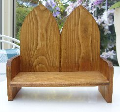 Double Arch Bench.