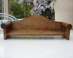 Curved Back Bench.