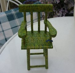 Coloured High Chair.