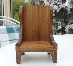 Wing Back Chair.