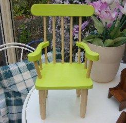 Hi-Lite Chair - Lime green.