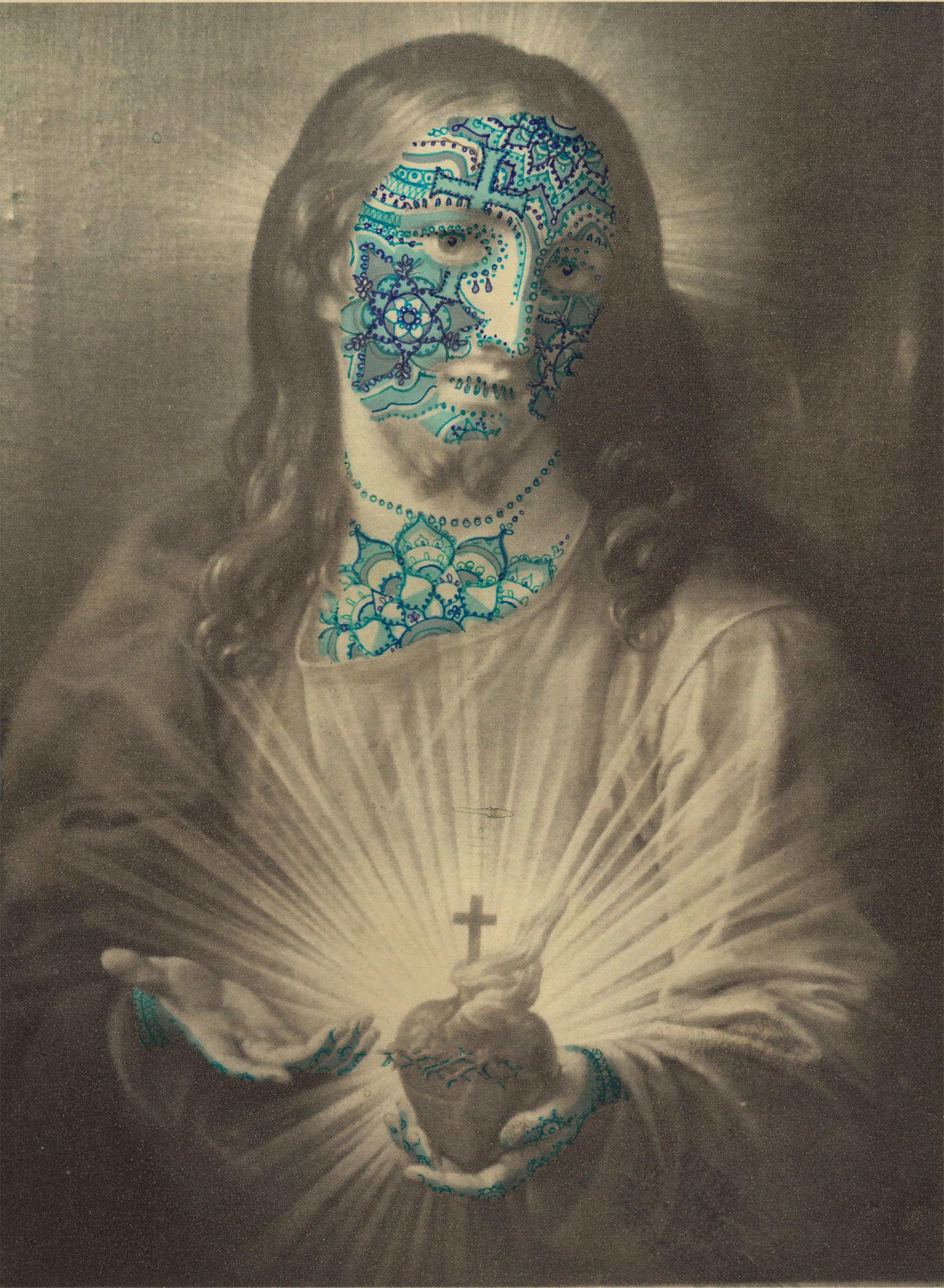 Blue-Jesus