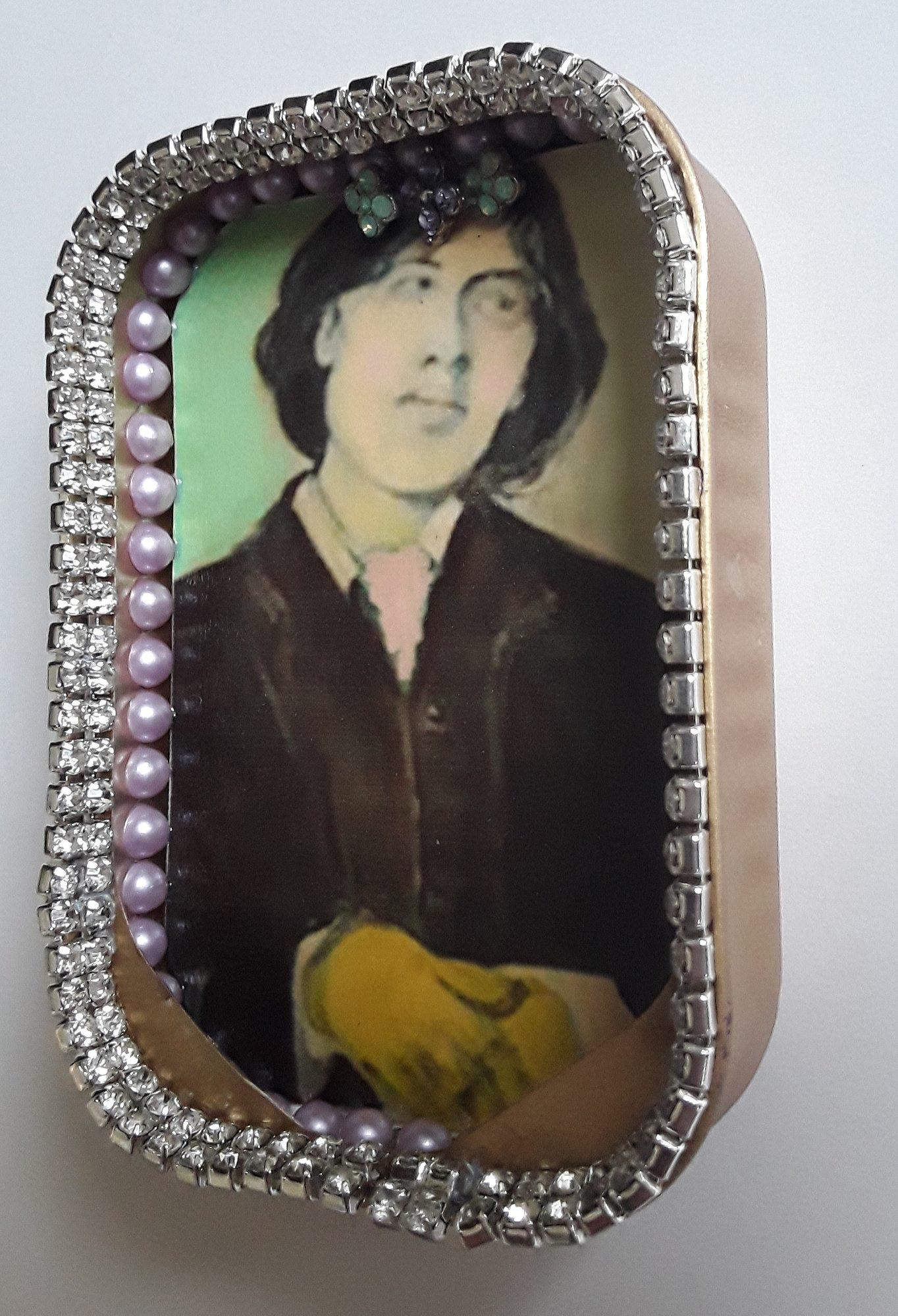 Oscar Wilde Icon Tin