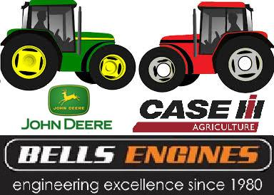 john deere and case ih at bells engines