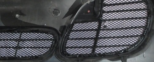 mesh inside turbo