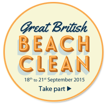 It's the Marine Conservation Society's Great British Beach Clean