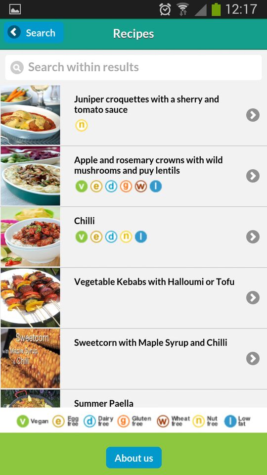 Visit the Vegetarian Society's website for more info about their apps
