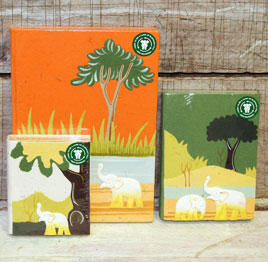 Give an Elephant Poo Notebook