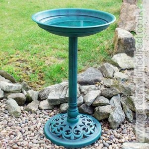 You can also get something decorative which is nice for the garden and great for the birds