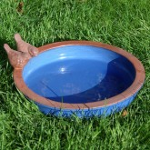 You can also get bird baths like this which go on the floor