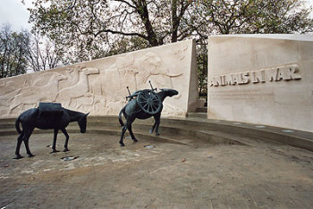 The Animals in War Memorial - We will remember them.