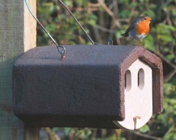 Fly away to Garden Wildlife Direct to choose a nest box