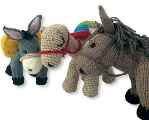 Knit to help SPANA help hardworking animals such as horses, donkeys and mules around the world