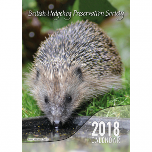 British Hedgehog Preservation Society 2018 Calendar