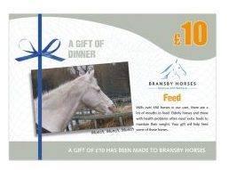 £10 A Gift of Dinner