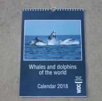 2018 Calendar - Whales & Dolphins of the World