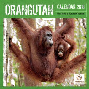 Orangutan Foundation 2018 Calendar