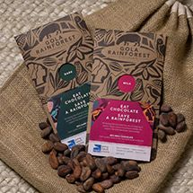 Gola Rainforest Chocolate from the RSPB Online Shop