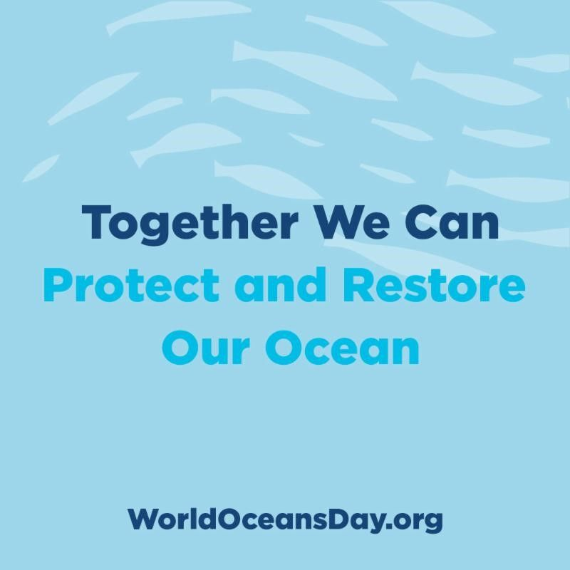 Together we can - Visit WorldOceansDay.org here