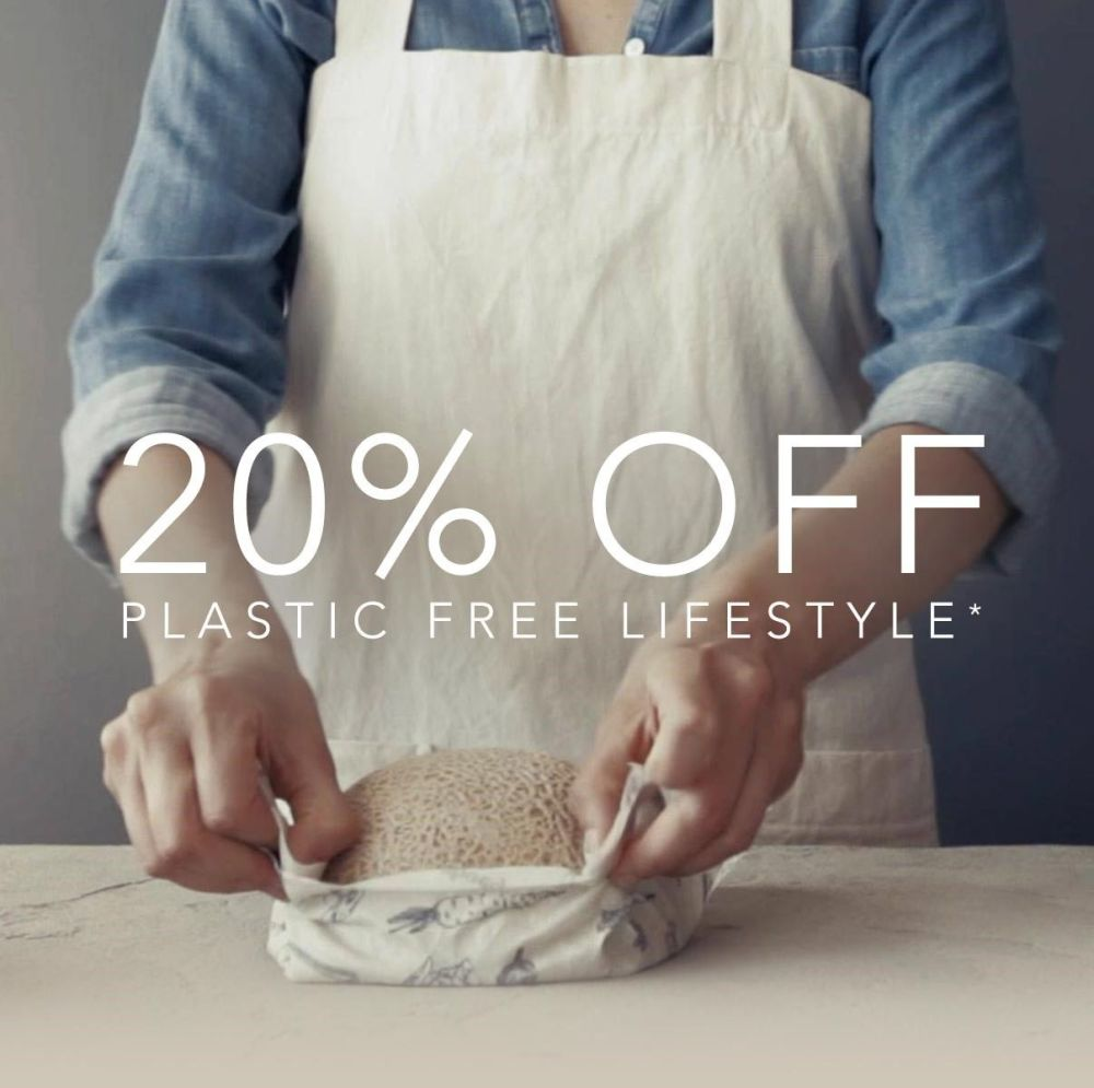 20% off plastic free with Natural Collection