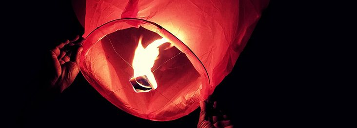 Sky lanterns can kill, they can destroy - please don't set them off