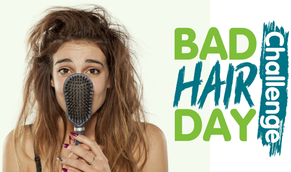 Rise to the Bad Hair Day Challenge on 30 June 2020