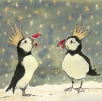 Fly off to see the Christmas cards from the National Trust for Scotland