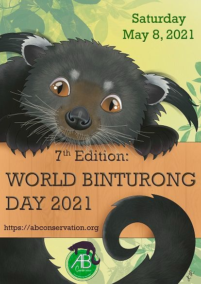 The 8th May is World Binturong Day