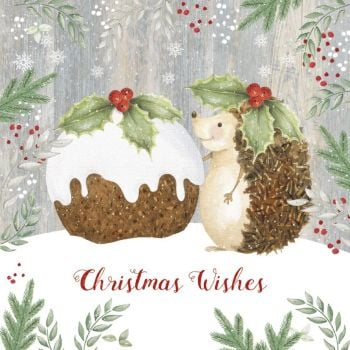 Take a look at the Christmas cards and gifts to help hedgehogs
