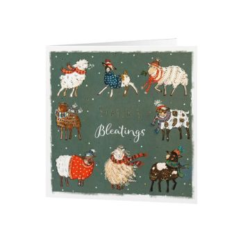 The National Trust has some great Christmas cards including this one sending Seasons Bleatings!