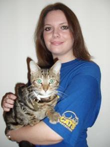 Cats Protection volunteer Jane