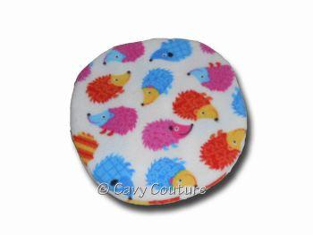 Heat Pad Cover - Hedgehogs fleece